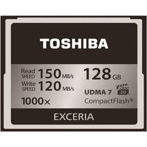 東芝 CF-EZ128 コンパクトフラッシュ 128GB EXCERIA|joyfulokuda-yh