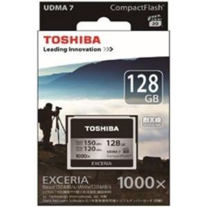 東芝 CF-EZ128 コンパクトフラッシュ 128GB EXCERIA|joyfulokuda-yh|02