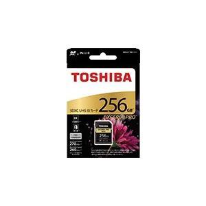 東芝 SDXU-D256G SDXCメモリカード EXCERIA PRO 256GB|joyfulokuda-yh|02