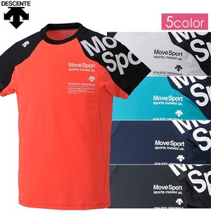 ポイント5倍 (トレーニングウェア メンズ)デサント(DESCENTE) BRZ+ ハーフスリーブシャツ DAT-5728(ランニング)|joyfulsports