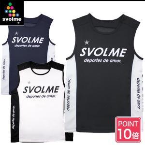 (ポイント10倍) (ランニングウェア メンズ レディース)スボルメ(SVOLME) ノースリーブ ランクトップ タンクトップ 172-60100|joyfulsports