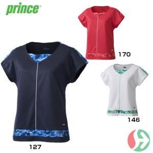 セール!(テニスウェア レディース)プリンス(Prince) ゲームシャツ WL7041(テニス レディースウエア)|joyfulsports