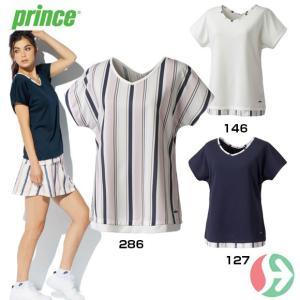 セール!(テニスウェア レディース)プリンス(Prince) レディスゲームシャツ WL7052(テニス レディースウエア)|joyfulsports