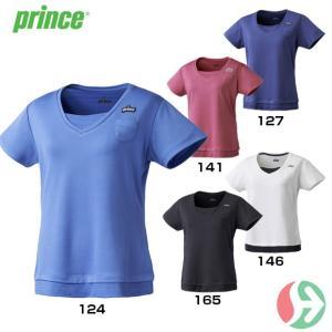 セール!(テニスウェア レディース)プリンス(Prince) レディスゲームシャツ WL7054(テニス レディースウエア)|joyfulsports