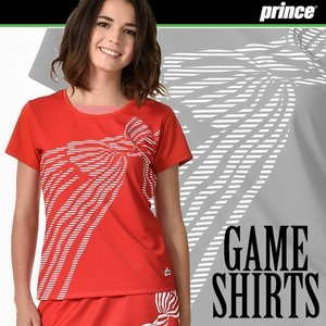 (送料無料)(テニスウェア レディース) プリンス(Prince) ゲームシャツ WL7075|joyfulsports