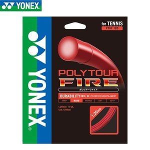 テニス ガット ストリング ヨネックス(yonex) ポリツアーファイア120 PTGF120 取寄