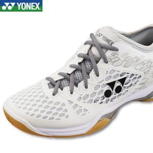 (セール)(バドミントンシューズ) ヨネックス(YONEX)パワークッション03  SHB03 011 ホワイト