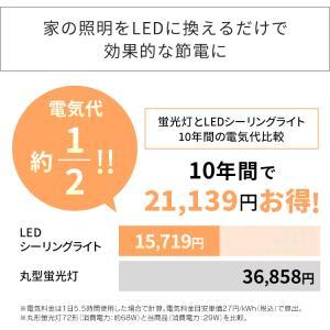 LED シーリングライト 6畳 調光 調色 アイリスオーヤマ 2個セット CL6DL-5.0|joylight|11