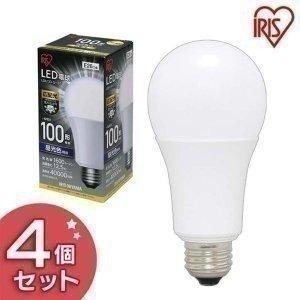 LED電球 E26 広配光タイプ 100W形相当 LDA13D-G-10T4 昼光色 4個セット アイリスオーヤマ|joylight