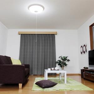 (在庫処分)訳あり LEDシーリングライト 8〜10畳 調光 プルスイッチ 4400lm CL8D-WP-R-RY アイリスオーヤマ|joylight|02