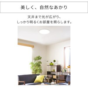 シーリングライト LED 6畳 アイリスオーヤマ 調光10段階 シンプル 工事不要 リビング タイマー リモコン 新生活 一人暮らし CL6D-5.0|joylight|04