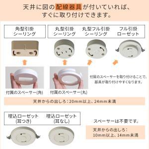 LED シーリングライト 6畳 調光 調色 アイリスオーヤマ おしゃれ CL6DL-5.0|joylight|14
