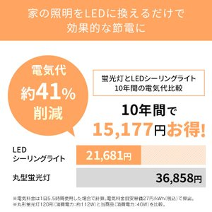 LED シーリングライト 8畳 調光 調色 アイリスオーヤマ おしゃれ LEDシーリングライト CL8DL-5.0CF|joylight|08