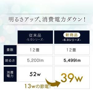 LEDシーリングライト 12畳 シーリングライト led 天井 メタルサーキットシリーズ シンプル調光 CL12D-6.0 アイリスオーヤマ|joylight|06