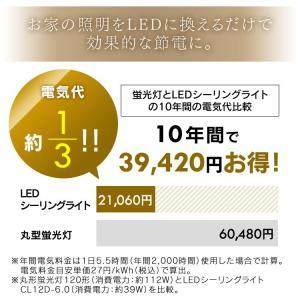LEDシーリングライト 12畳 シーリングライト led 天井 メタルサーキットシリーズ シンプル調光 CL12D-6.0 アイリスオーヤマ|joylight|10