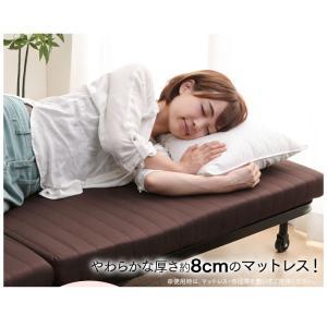 折りたたみベッド ベット 寝具 OTB-BR アイリスオーヤマ|joylight|03
