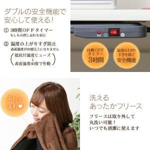 (在庫処分)デスクヒーター フットヒーター 足元 ヒーター 足温器 ぽかぽか DEH-45-T アイリスオーヤマ|joylight|04