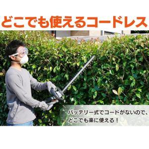 充電式ヘッジトリマー18V JHT530 アイリスオーヤマ|joylight|02