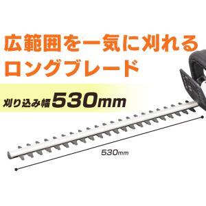 充電式ヘッジトリマー18V JHT530 アイリスオーヤマ|joylight|08
