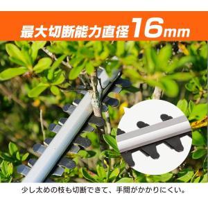 充電式ヘッジトリマー18V JHT530 アイリスオーヤマ|joylight|10