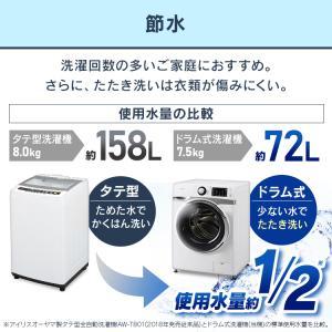 洗濯機 ドラム式 7kg 新品 左開き 全自動洗濯機 ドラム式洗濯機 7.5kg アイリスオーヤマ【代引き不可】|joylight|12