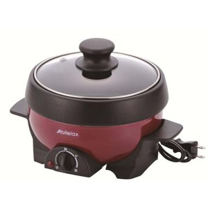 電気ミニグリル鍋 鍋 蒸し器 マルチプレート APN16G ...