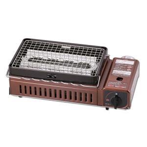 カセットガス炉ばた焼き器 バーベキュー 網焼き 七輪焼き風 CB-ABR-1 イワタニ|joylight