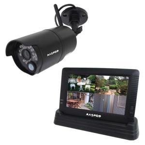 モニター&ワイヤレスHDカメラセット 防犯 カメラ 安全 安心 WHC7M マスプロ (D)