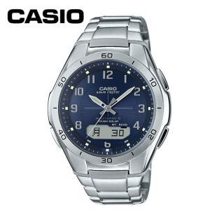 腕時計 電波腕時計 電波時計 ソーラー 時計 電波腕時計  WVA-M640D-2A2JF カシオ (D)|joylight