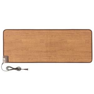 電気カーペット ホットカーペット 本体 キッチンマットL 120×45cm 木目 WFM-4512D|joylight