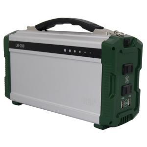 ポータブル蓄電池エナジープロmini グリーンxシルバー LB-200 (D)|joylight
