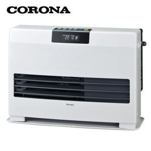FF式 石油暖房機 温風ヒーター タフバーナ ナチュラルホワイト FF-WG40SA-W コロナ (D)|joylight