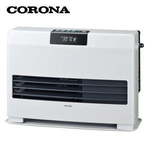 FF式 石油暖房機 温風ヒーター タフバーナ ナチュラルホワイト FF-WG52SA-W コロナ (D)|joylight