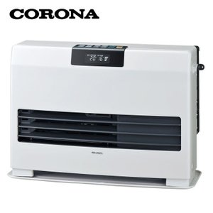 FF式 石油暖房機 温風ヒーター タフバーナ ナチュラルホワイト FF-WG65SA-W コロナ (D)|joylight