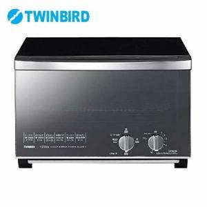 オーブントースター おしゃれ ミラーガラスオーブントースター TS-D048B ツインバード (D)|joylight