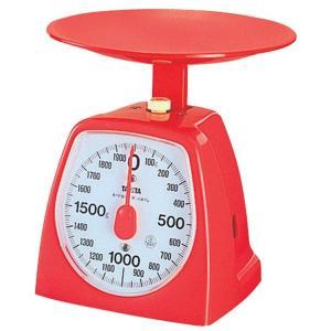 アナログクッキングスケール 2kg レッド 1439-RD TANITA (D)