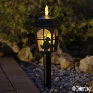 ソーラーライト ガーデンライト シルエットストーリー ミッキー&ミニー 防犯灯 防犯ライト TD-LR01 人気|joylight