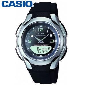 カシオ アナデジ腕時計 AW-S90-1A1JF メンズ(正...