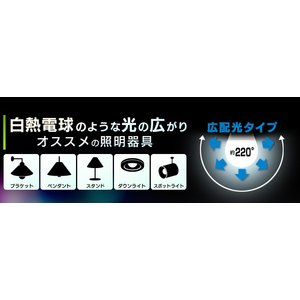 LED電球 E17 60W 4個セット 広配光 LED 電球 小型電球 ミニクリプトン LDA7N-G-E17-6T42P・LDA8L-G-E17-6T42P アイリスオーヤマ (あすつく)|joylight|04