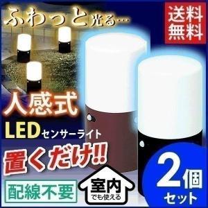 アウトレット 2個セット 人感センサーライト LED スリム 足元灯 防犯灯 防犯ライト LSL-MS2 アイリスオーヤマ 人気|joylight
