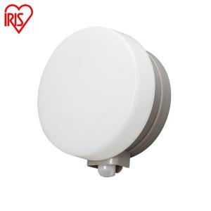 玄関照明 玄関灯 照明 屋外 防水 人感センサー付き 丸型 昼白色・電球色 防犯灯 防犯ライト BOS-WN1M-WS・BOS-WL1M-WS アイリスオーヤマ joylight 03