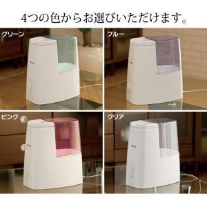 加湿器 アロマ 卓上 おしゃれ 小型 コンパクト 加熱式加湿器 加湿機 オフィス 一人暮らし 家庭 潤い SHM-260D アイリスオーヤマ(あすつく)|joylight|08
