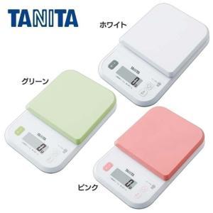 デジタルクッキングスケール キッチン 台所 KJ-110S-WH タニタ (D)