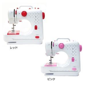 コンパクト電動ミシン ミシン 縫う FHS-505B-RD SIS (D)|joylight