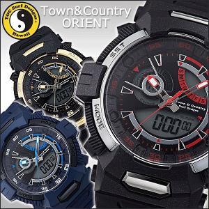 腕時計 メンズ スポーツウォッチ 防水 オリエント タウンアンドカントリー PLAY WS00111T WS00211T WS00611T (在庫処分) (訳あり:箱汚れ)|joylight