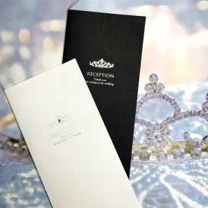 【プリンセス】結婚式 席次表 手作りキット (席次表中紙 A4・A4ロング・B4・A3)