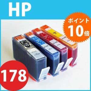 「ICチップ付4色マルチパック」ヒューレットパッカード(HP) HP178XL 増量タイプ互換インク CB316HJ・CB323HJ・CB324H・CB325HJ joypirika