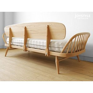 受注生産 英国家具 輸入家具 ウッドフレームの3Pソファ 美しいデザインのカウチソファ イギリス アーコール 355スタジオカウチ 355 studio couch ※輸入商品|joystyleinterior|04