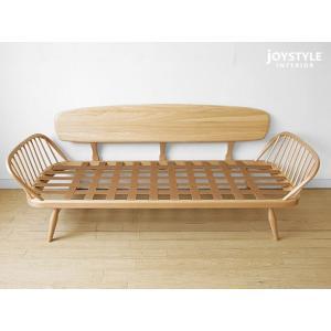 受注生産 英国家具 輸入家具 ウッドフレームの3Pソファ 美しいデザインのカウチソファ イギリス アーコール 355スタジオカウチ 355 studio couch ※輸入商品|joystyleinterior|06