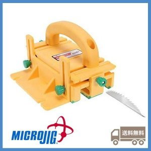 マイクロジグ(MICROJIG) グリッパー 全米大ヒット テーブルソーの3Dプッシュブロック 米国特許構造 ルーターテーブルにも フェザーボード要らず 正規輸入品|jp-liebe